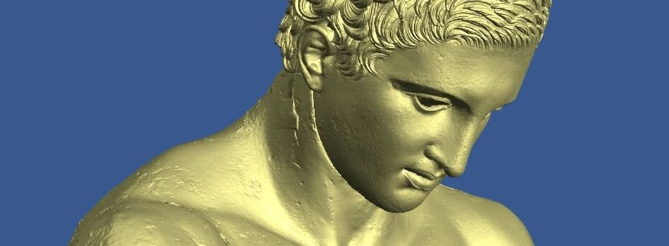 Digitalizacija kipa Apoksiomen