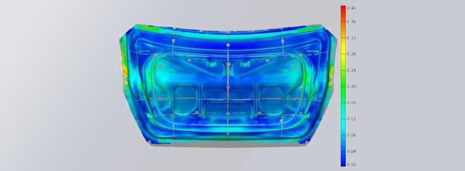 Provjera numeričkih simulacija oblikovanja lima