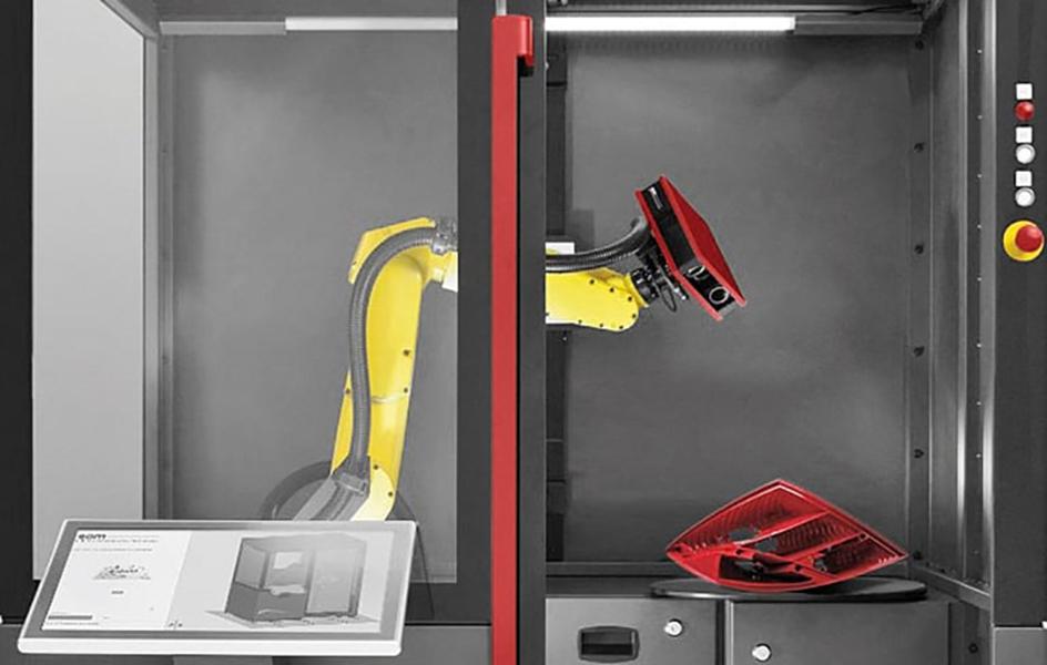 Automatizirano 3D mjerenje